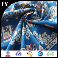 Factory direct high quality digital print custom fabric shopping organic cotton bag