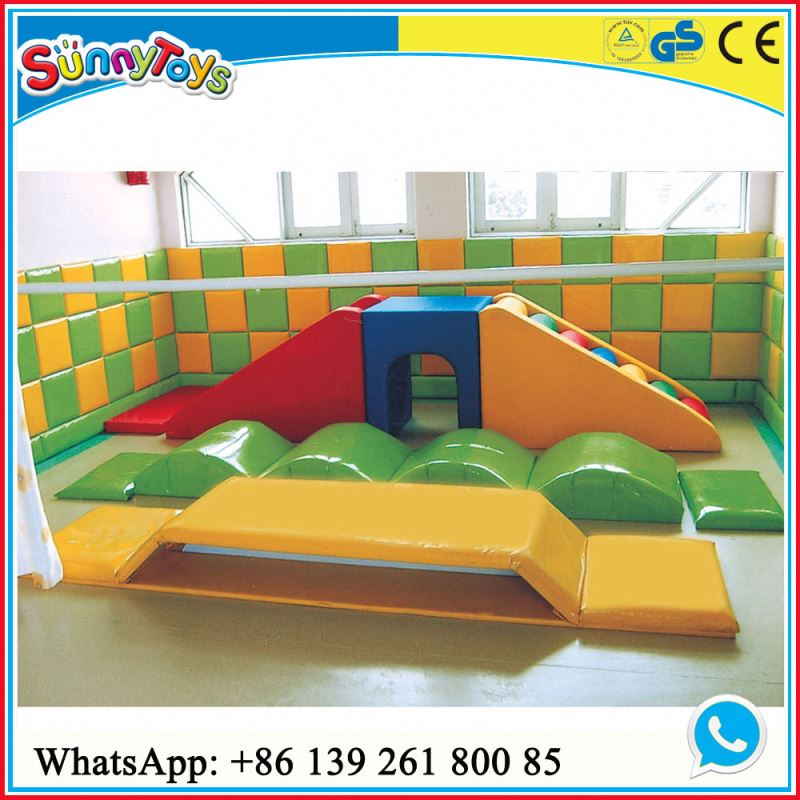 Toy ball pit indoor soft play equipment 2016 eva floor ball pull soft kids indoor playground for indoor play area