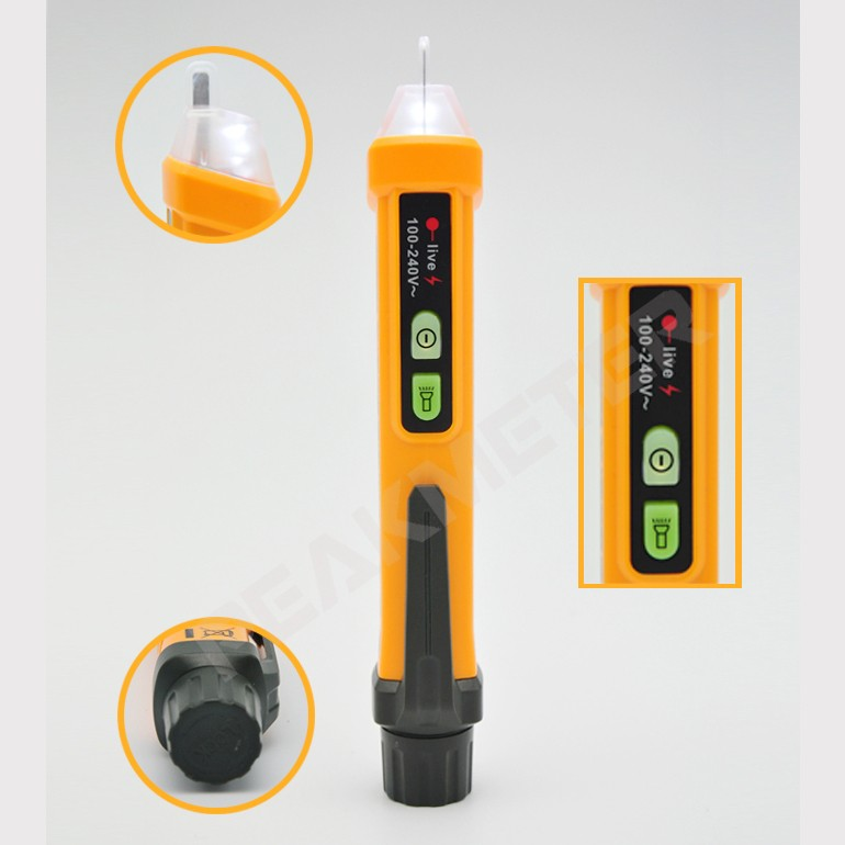 Noval and Stylish 110~240V Non-contact AC Voltage Detector Pen PM8908A
