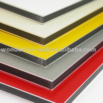 exterior deceration aluminum composite panel