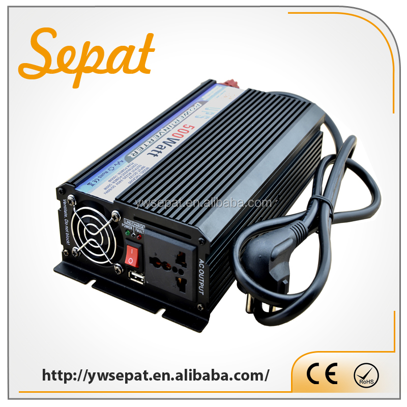 UPS Modified Inverter 500W Off-grid Solar Power Inverter With MPPT