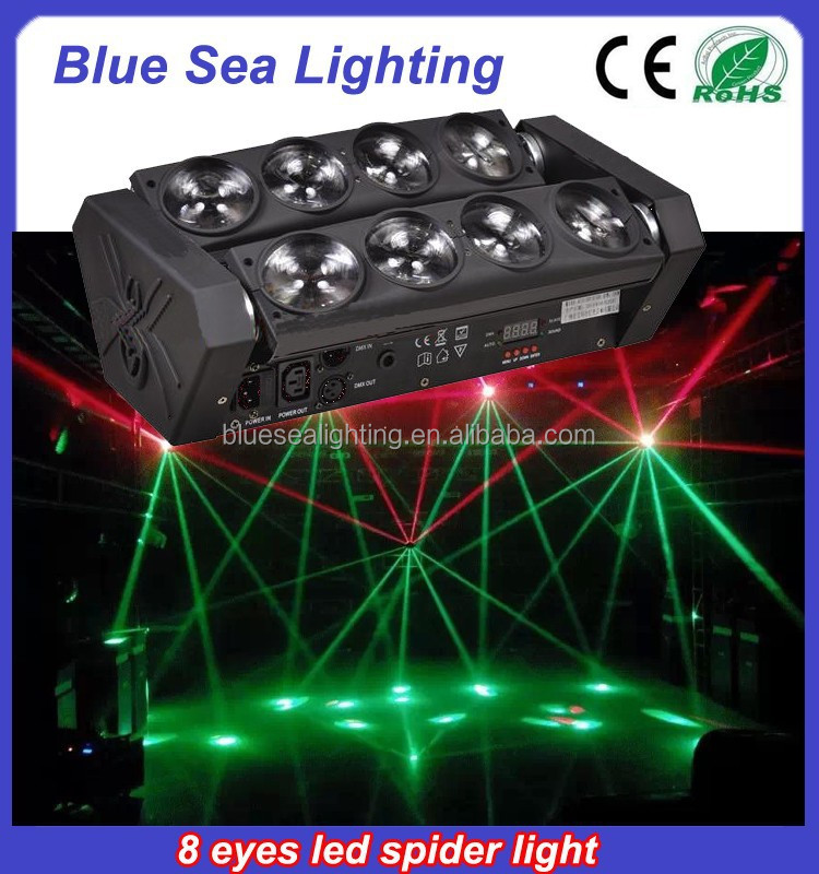 Wholesale 8x10w 4in1spider beam dragon mart dubai disco lights