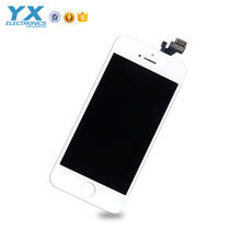 Free DHL wholesale lcd with digitizer for iphone 5 accept Paypal