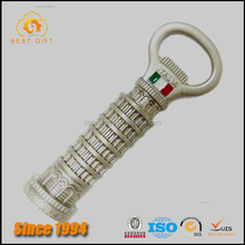 Hot Sell Italy Pisa Tower Fridge Magnet Bottle Openers
