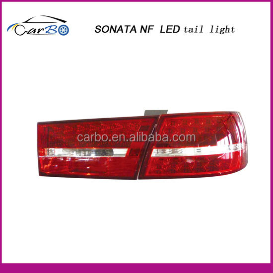 Taizhou Carbo Auto Parts Factory supply Sonata NF led tail light