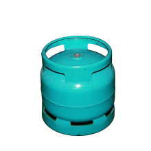 China supplier different types 6kg 7kg empty lpg gas cylinder price