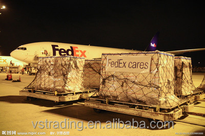 Cheap fedex international air freight rates from China to usa with the best service