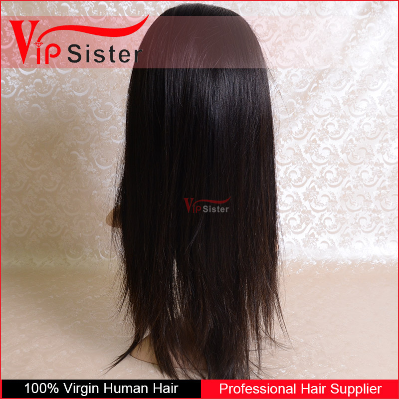 Lace front wig with baby hair for black women