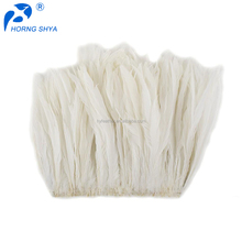 Feather Factory Top Level Quality Professional Free Sample White Cock Feather