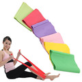 5 ft. Long 15cm Wide Medium Strength Latex Resistance Bands for Yoga Pilates Therapy