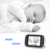 Videotimes 3.2'' Radio Portable Video Baby Monitor with Two-way Talkback, Infrared Night Vision for baby,monitor  bebe