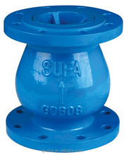 THE disc wafer check valve uses gravity to rapidly close the disc upon reversal of flow