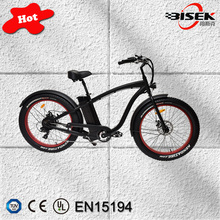 Model BSKS02 26'' ebike for men 48v 500w snow e bike e-bike with OEM customize