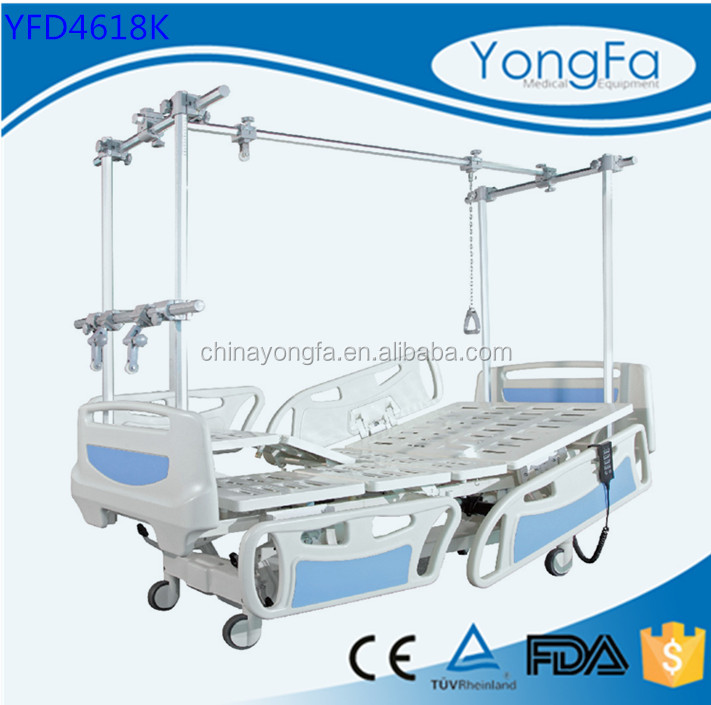 YFD4618K Electric Hospital Physical Therapy Bed,YFG manual orthopedic bed
