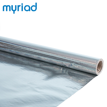 building material flexible fire resistant mylar sheet insulation