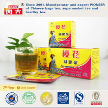 China natural slim tea fast weight loss tea fat burner tea herbal easy slimming tea