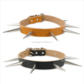 High fashion frequency dog, spiked pet dog collar, dog fashion