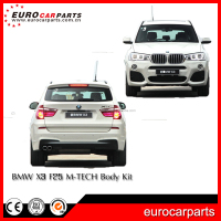 Car X3 F25 M-TE bumpers body kit fit for X3 F25 car mofication PP material