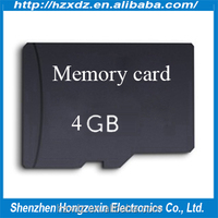 Bulk cheap 4gb micro TF sd memory card for mobile phone tablet pc and so on