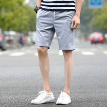 High quality elastic waist shorts pants for men