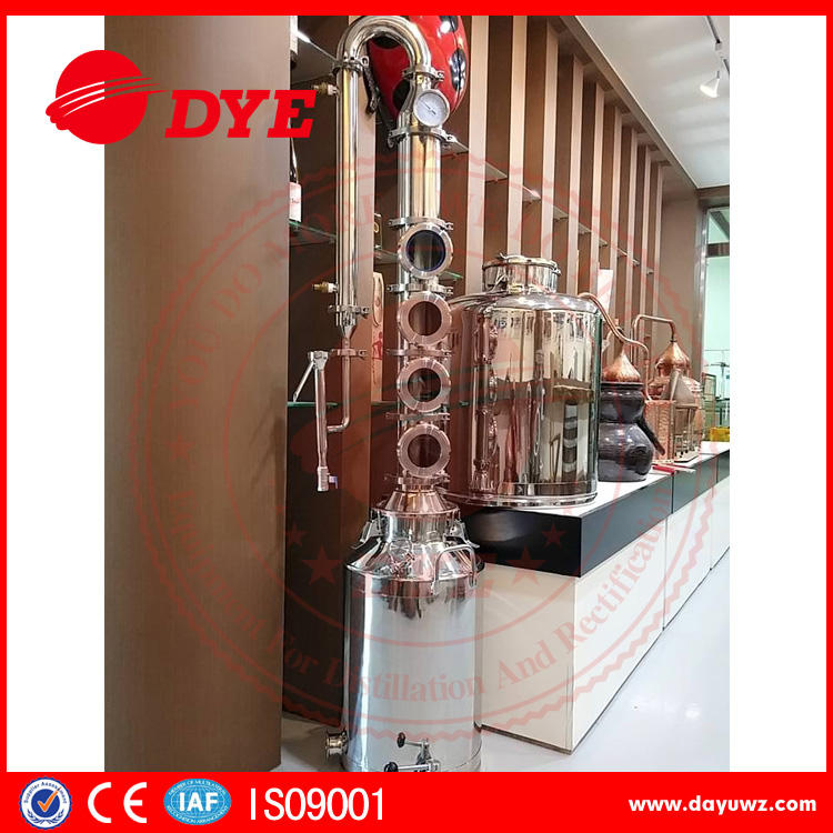 Small distillation equipment for Brandy,rum,whisky with factory price
