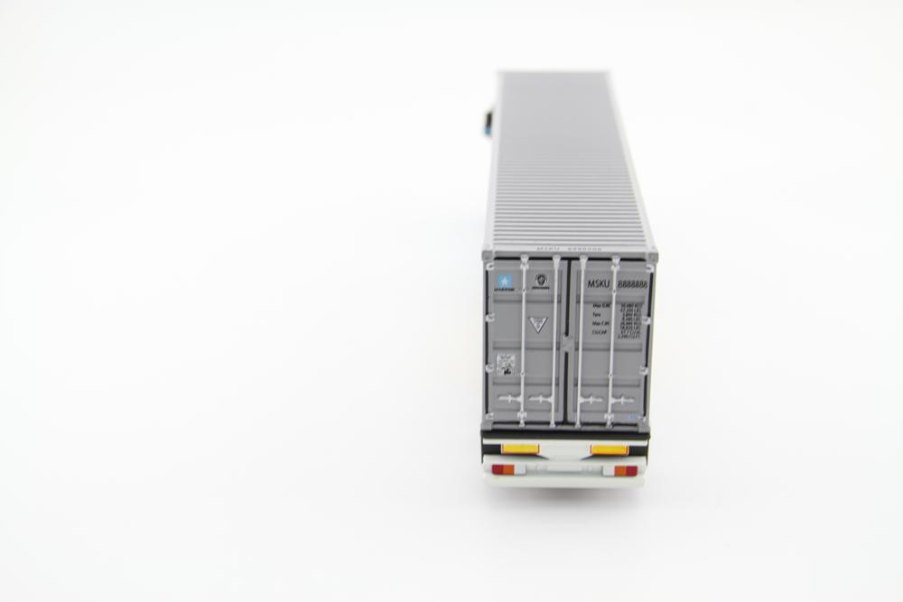 1:50 zinc alloy shipping container truck model