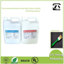 Excellent Resistance To Impact And Shaking Force High Hardness Epoxy Glue For Brush