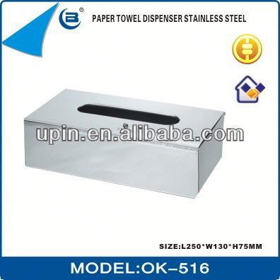 stainless steel table-set type paper holder/practical flexible paper holder
