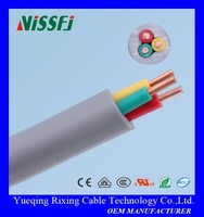 PVC JACKET & INSULATION CCA/Copper Conductor H05VV-F Flexible Power Electric wires and cables