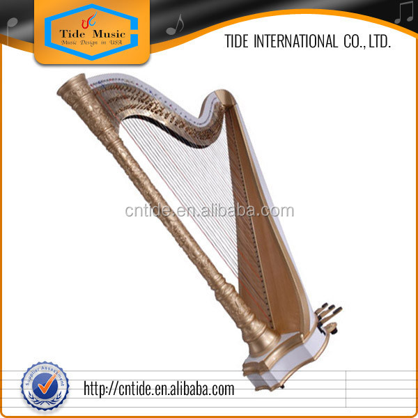 47 strings Pedal harp LDP-2 ranging from 1st Octave G to 7th Octave C