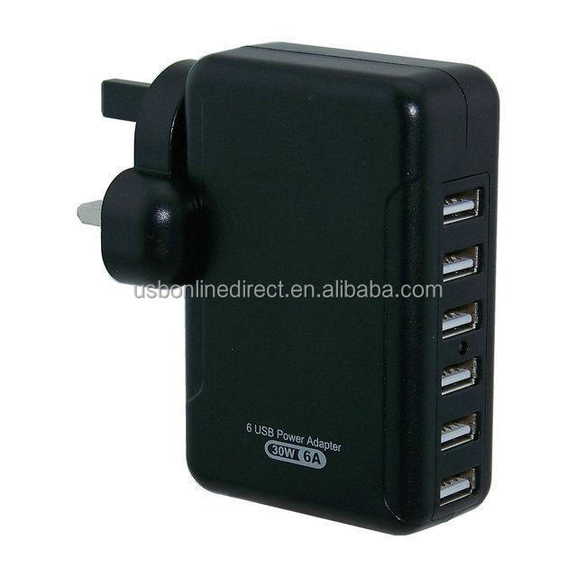 1 2 3 4 5 6 7 port USB AC Power Multi Adapter Travel Wall Charger US EU UK AU Plug 10W 30W 35W 5V 2A 6A 7A USB Charger for phone