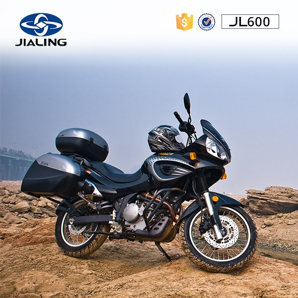 JH600 600cc Chinese New Automatic Motorcycle Cool Racing Sport Motorcycle use the Four Stroke Engine