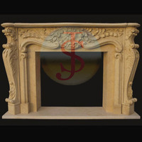 Professional french marble fireplaces manufacturers with Best Price