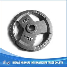 Standard free weight three holes weight plates