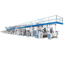 3 5 7 Ply Corrugated Cardboard Production Line Single Or Double Wall Paperboard Making Machine Automatic Carton Box