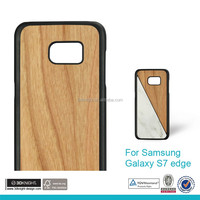 Wholesale protective case for samsung galaxy S7 case,for galaxy S7 wood bamboo case high quality