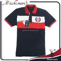 embroidered polo shirt cotton custom from Guangzhou apparel supplier