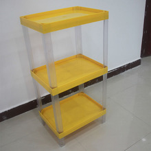 adjustable plastic Advertising Stand counter supermarket display rack stand