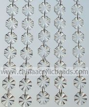 Outdoor 6*22*22MM Acrylic Ring Beading Chain Curtain Hot Sale