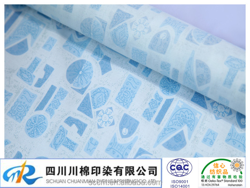 textile print service fabrics for clothing custom fabric