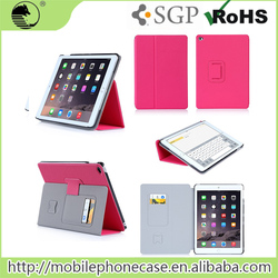 Muti Colors Available Ultra Thin Pu+Pc Material Tablet Cover For Apple iPad Air 2