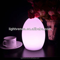 Color Change battery operated led table lamp