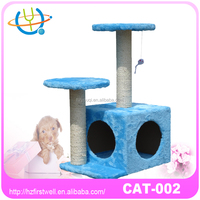 Luxury Indoor Furniture strong Design Pet Products Cat Scratcher Cat Tree House