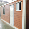 New product 20 feet modular flat pack storage containers house