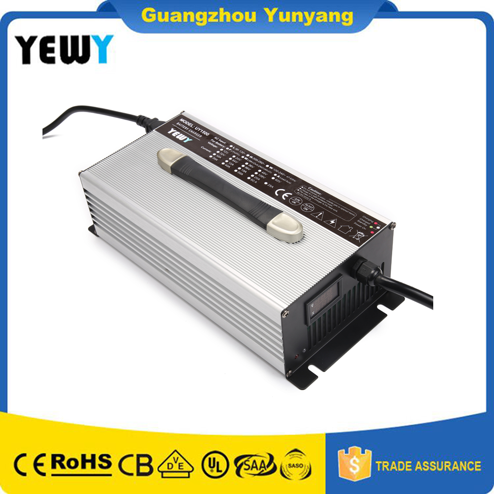 60amp 4-stage 12v Lithium 16.8 volt Battery Charger AGV Golf cart charging Machine