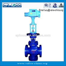 One-piece single stage pressure and temperature reducing valve