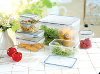14PCS Airtight Microwave plastic food container