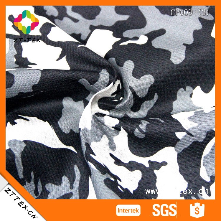 2016 hot sale tc twill 65 polyester 35 cotton multicam fabric