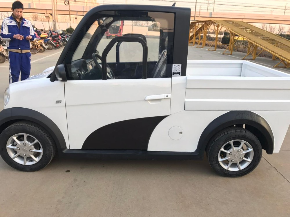Outstanding cheap price chinese 2 seater mini for sale electric pickup truck