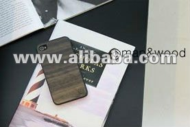 Real wood mobile phone case for i phone 4s/4, galaxy s2